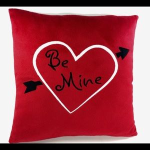 BE MINE VALENTINE Throw Pillow 13 inch Square Love